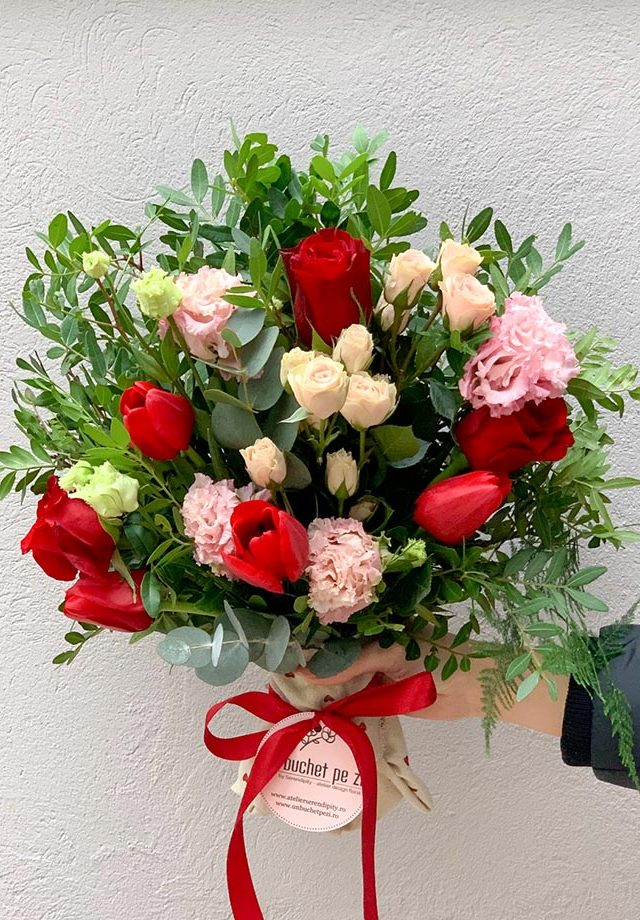 "Buchet ""Cupidon"" Valentine's Day"